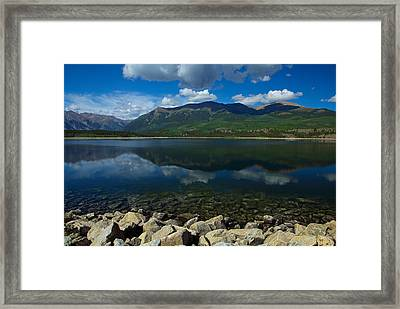 Mount Elbert Framed Print