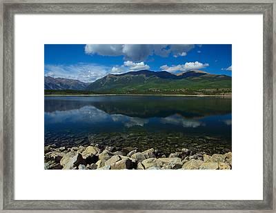 Mount Elbert Framed Print
