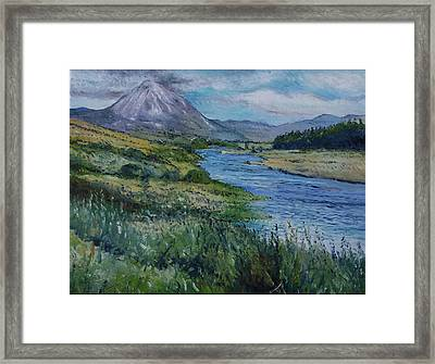 Mount Errigal Co. Donegal Ireland. 2016 Framed Print
