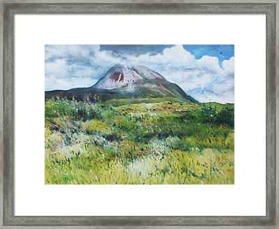 Mount Errigal County Donegal Ireland 2016 Framed Print