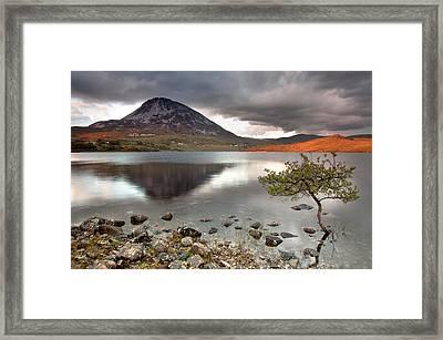Mount Errigal Framed Print by Pawel Klarecki