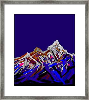Mount Everest Framed Print by Anand Swaroop Manchiraju