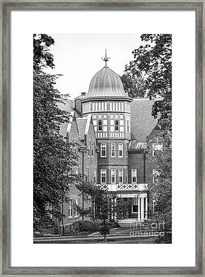 Mount Holyoke College Safford Hall Framed Print by University Icons