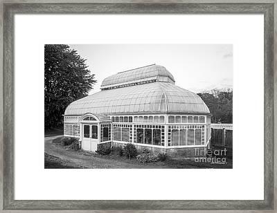Mount Holyoke College Talcott Greenhouse Framed Print by University Icons