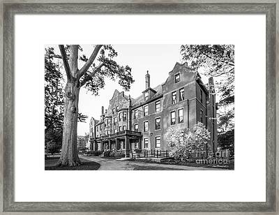 Mount Holyoke College Wilder Hall Framed Print by University Icons