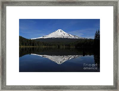 Mount Hood Framed Print
