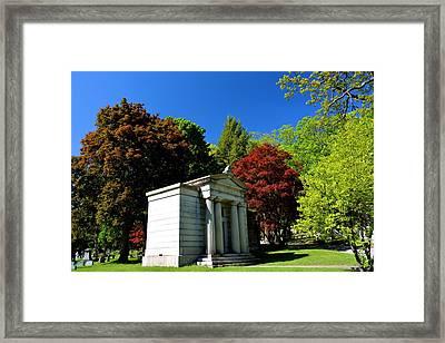 Mount Hope Cemetery 2 Framed Print by Richard Jenkins