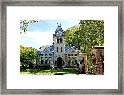Mount Hope Church Framed Print by Richard Jenkins
