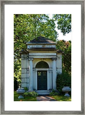 Mount Hope Mausoleum Framed Print by Richard Jenkins