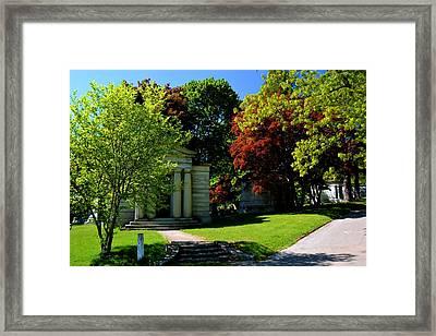 Mount Hope Spring Time Framed Print by Richard Jenkins