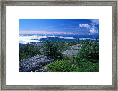 Mount Hunger Summit Vermont Framed Print
