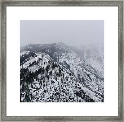 Mount  Framed Print