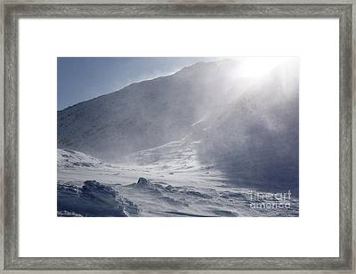 Mount John Quincy Adams - White Mountains Nh Framed Print by Erin Paul Donovan