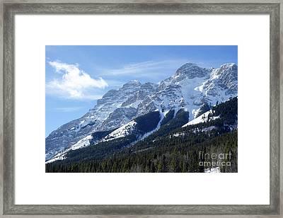Mount Kidd Framed Print