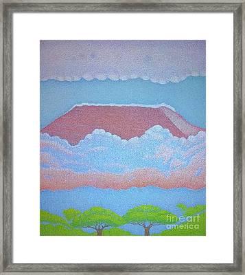 Mount Kilimanjaro Framed Print