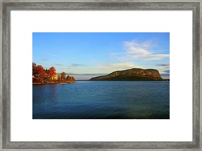 Mount Kineo Moosehead Lake Framed Print