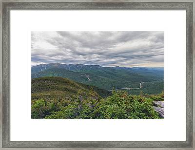 Mount Lafayette And Franconia Notch Parkway Framed Print by Brian MacLean