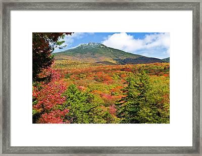 Mount Liberty Framed Print