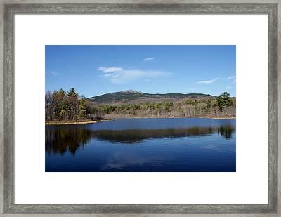 Mount Monadnock Framed Print