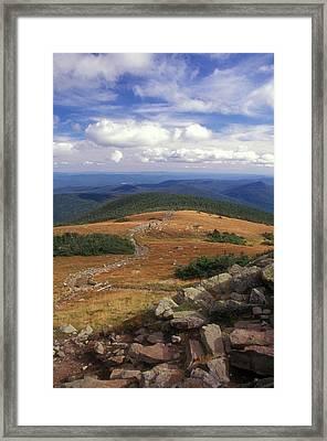 Mount Moosilauke Summit Framed Print