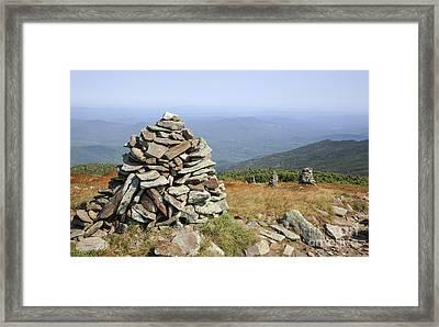 Mount Moosilauke - White Mountains New Hampshire Framed Print