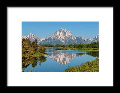 Snake River Framed Prints