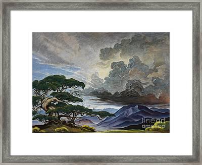 Mount Nebo Framed Print