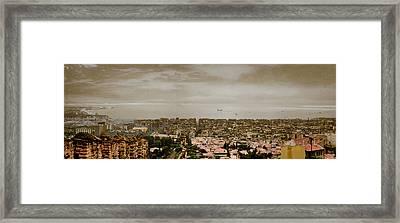 Thessaloniki, Greece - Mount Olympus Framed Print