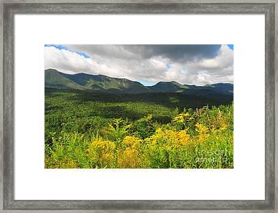Mount Osceola Framed Print by Catherine Reusch Daley