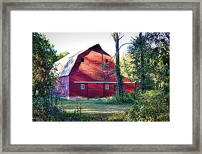 Mount Pleasant Road Barn Framed Print