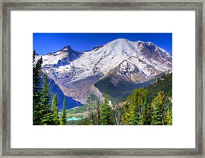 Mount Rainier IIi Framed Print