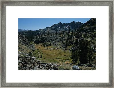 Mount Ritter And Meadow Framed Print