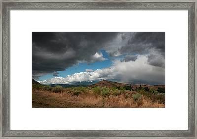 Mount Rose From Hidden Valley Framed Print by Rick Mosher