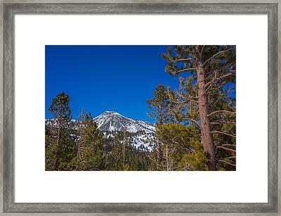 Mount Rose Wilderness Framed Print by Scott McGuire