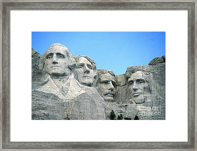 Mount Rushmore Framed Print by American School