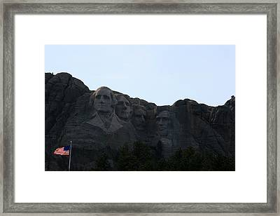 Mount Rushmore Framed Print by George Jones