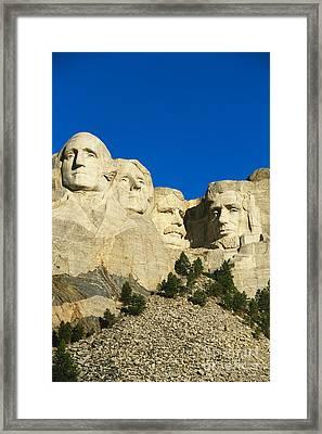 Mount Rushmore  Framed Print by Gutzon Borglum