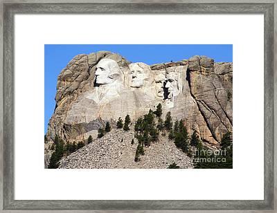 Mount Rushmore I Framed Print