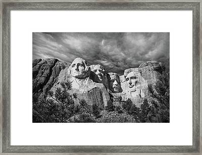 Mount Rushmore II Framed Print