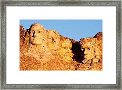 Mount Rushmore Framed Print by Todd Klassy