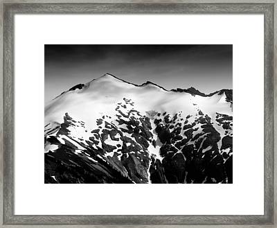 Mount Ruth In The Washington Cascade Mountains Framed Print by Brendan Reals