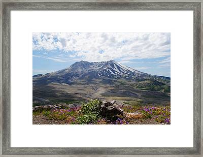 Mount Saint Helens Framed Print by Robert  Moss