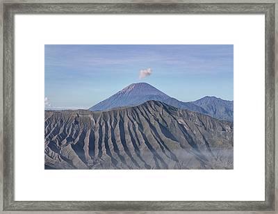 Mount Semeru - Java Framed Print