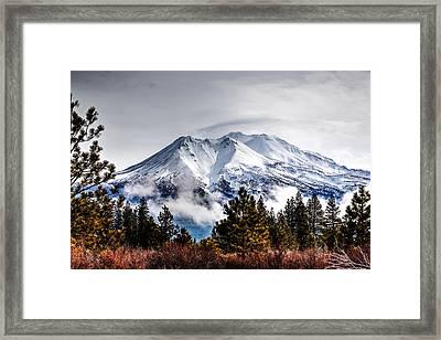 Mount Shasta 01 Framed Print