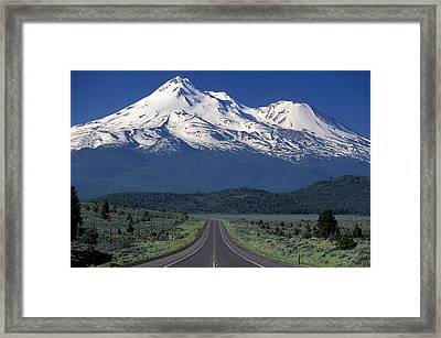 Mount Shasta Framed Print