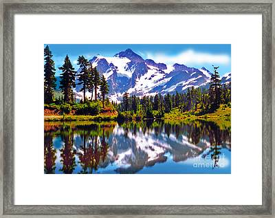 Mount Shuksan Washington Framed Print