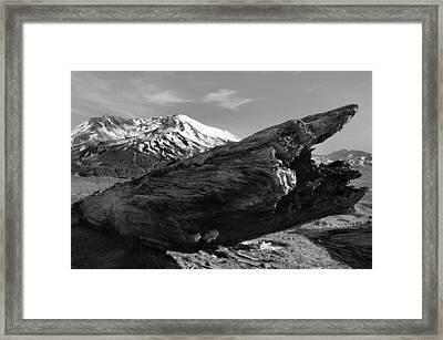 Mount St Helen Framed Print