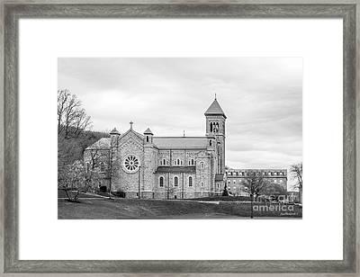 Mount St. Mary's University Chapel Framed Print