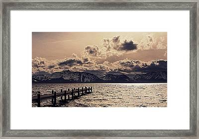 Mount Tallac Lake Tahoe Framed Print by Brad Scott