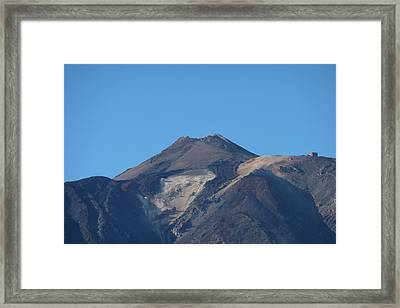 Mount Teide Framed Print